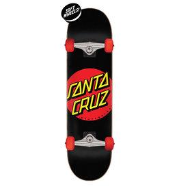 Santa Cruz Santa Cruz Skateboard Complete, Classic Dot Super Micro, 7.25in x 27.00in