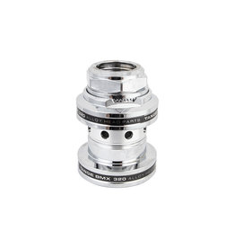 Tange-Seiki Tange Headset Threaded MX320 Alloy, 1in, Polished Silver