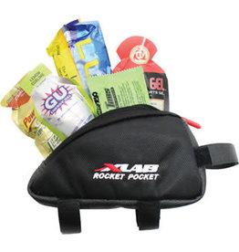 XLAB XLAB Rocket Pocket Top Tube/ Stem Bag: Black