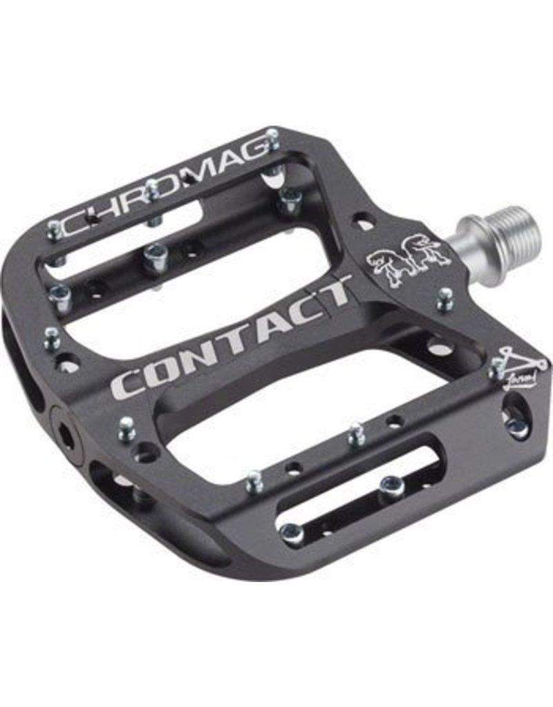 "Chromag Chromag Contact Pedals: 9/16"",Black"