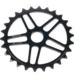 Salt Plus Salt Plus 5 Star Spline Drive Sprocket 25t Black