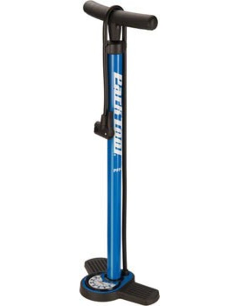 Park Tool Park Tool PFP-8 Home Mechanic Floor Pump Blue/Black