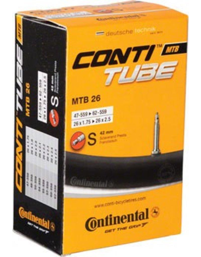 Continental 26x1.75-2.5 Continental 42mm Presta Valve Tube