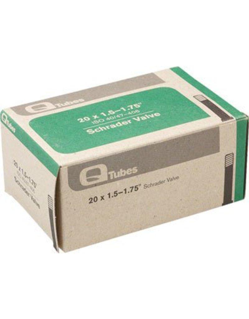 20x1.5-1.75 Q-Tubes Schrader Valve Tube 114g *Low Lead Valve*
