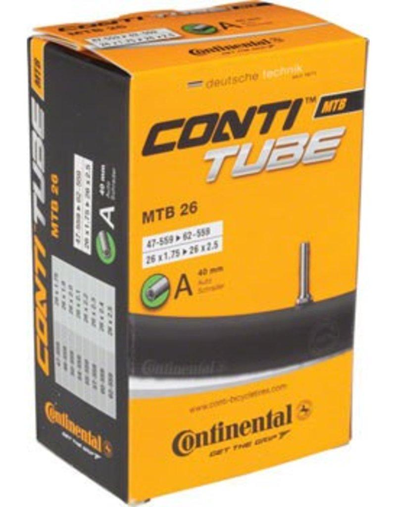 Continental 26x1.75-2.5 Continental 40mm Schrader Valve Tube