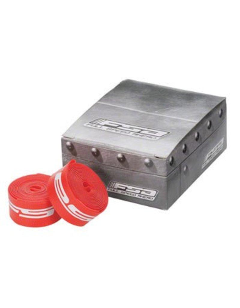 FSA (Full Speed Ahead) FSA 700c x 17mm Rim Strips Red Nylon - single