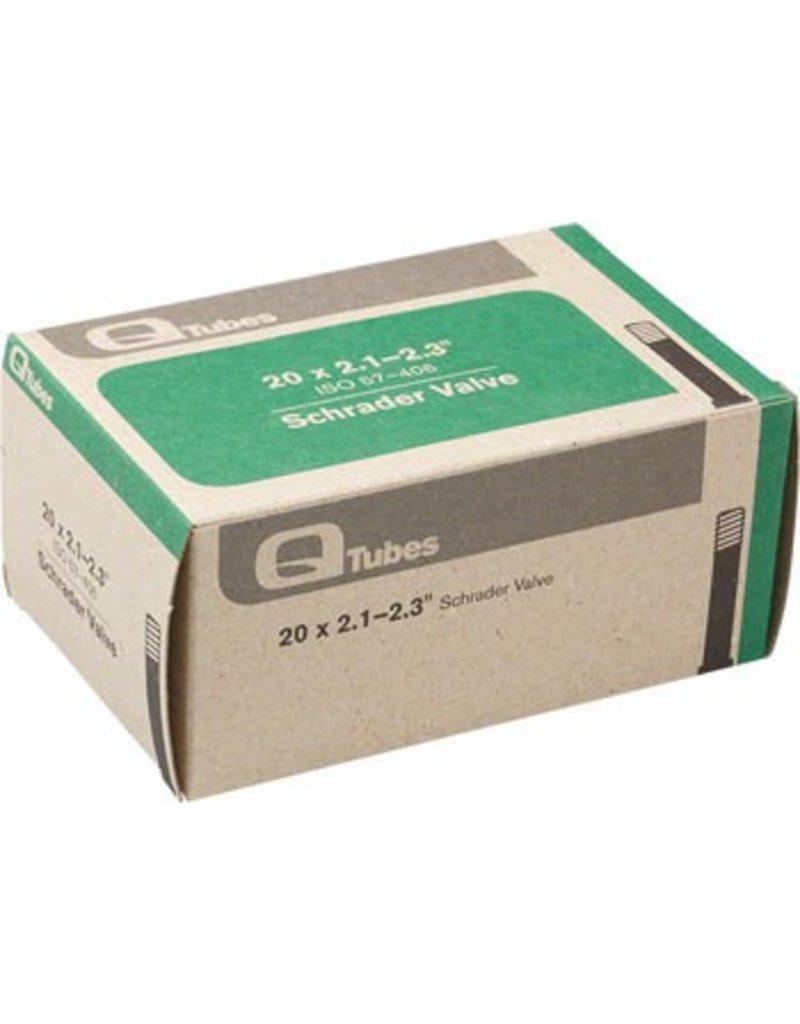 20x2.1-2.3 Q-Tubes / Teravail Schrader Valve Tube 152g
