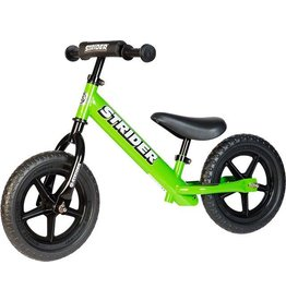 Strider Strider 12 Sport Kids Balance Bike: Green