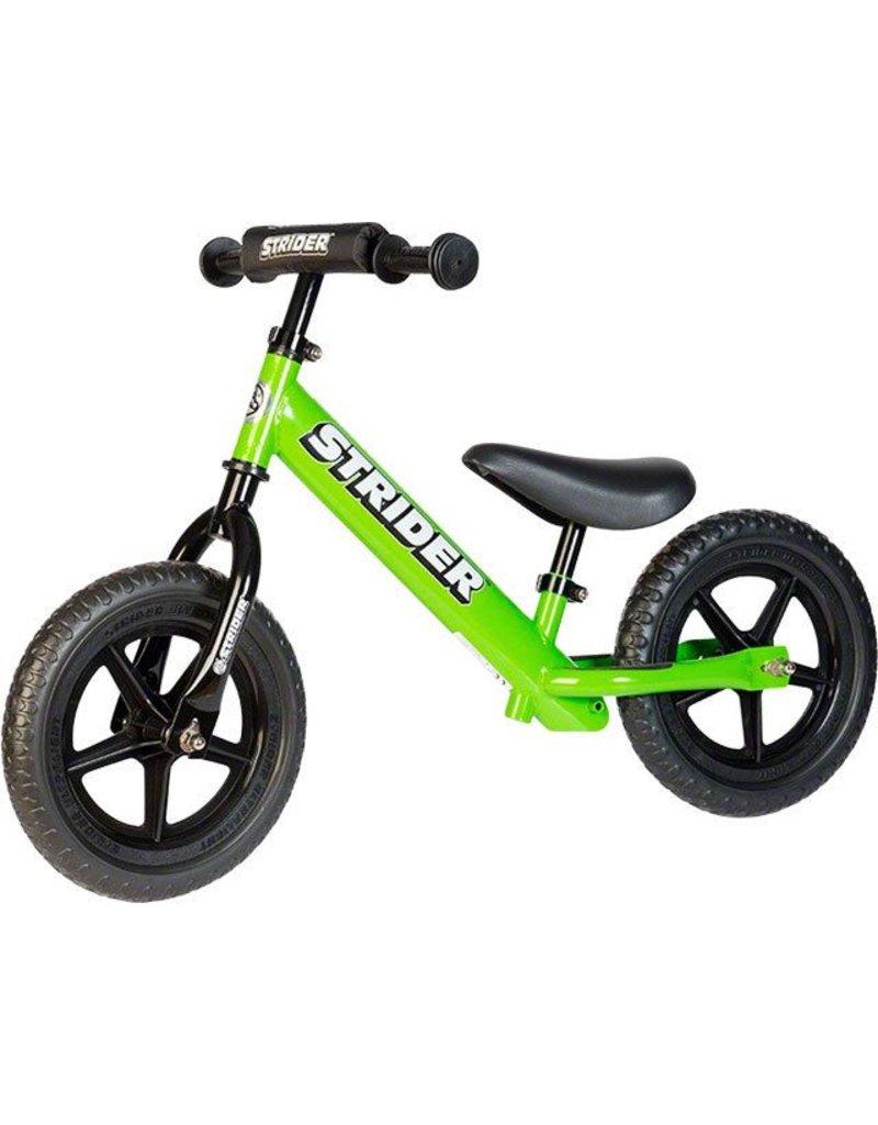 Strider Strider 12 Sport Kids Balance Bike: Green