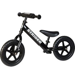 Strider Strider 12 Sport Kids Balance Bike: Black