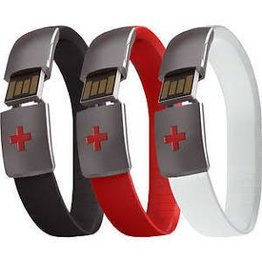 Epic-ID USB Emergency ID Band - Black