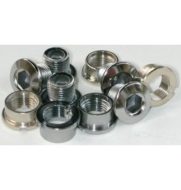 MCS MCS Chainring Bolts - Steel set of 5 (chrome)
