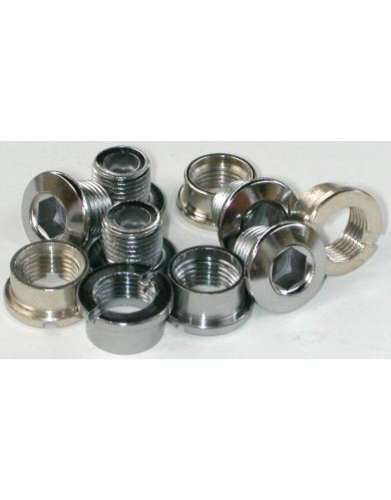 MCS MCS Chainring Bolts - Steel set of 5 (chrome)