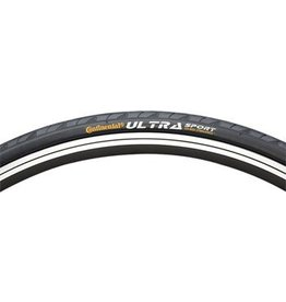 Continental Continental Ultra Sport II Tire 700x25 Black Steel Bead