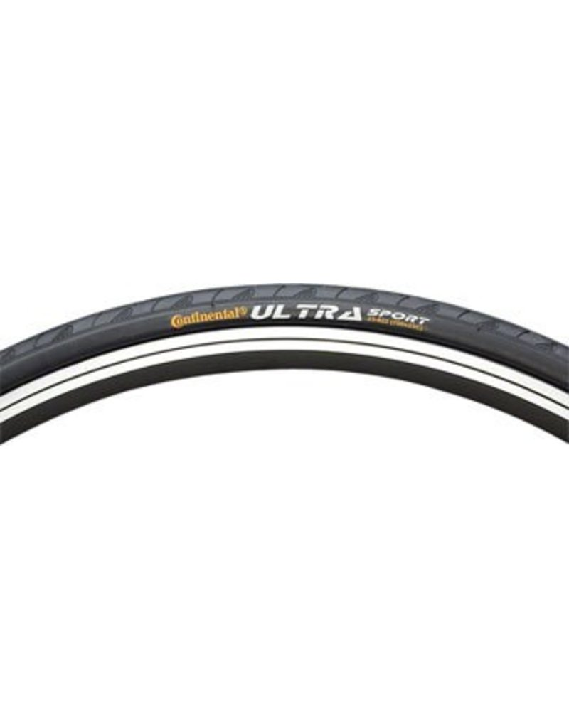 Continental Continental Ultra Sport II Tire 700x25 Black Steel Bead