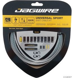 Jagwire Jagwire Universal Sport Shift Cable Kit Braided White