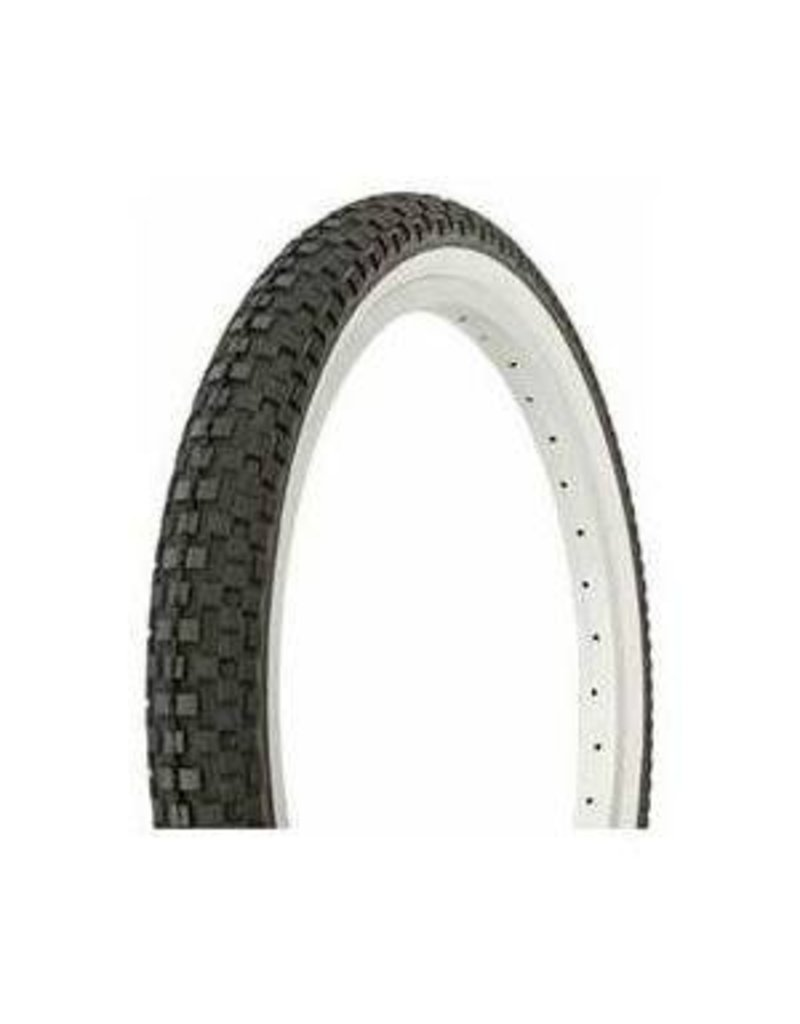 DURO TIRE,20X1.95,F/STYLE,B/W 75 PSI,X-PERFORMER,NO PINCH
