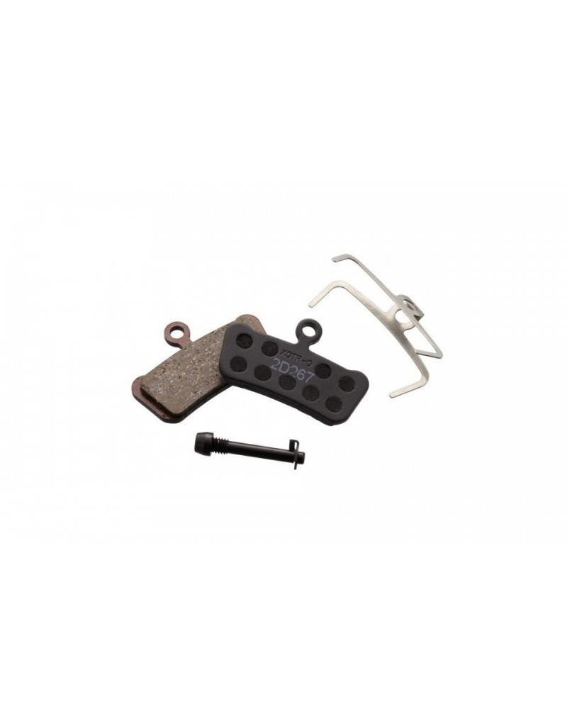 Avid Disc pads, Trail (4-piston) - organic/steel (pr)