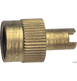 Rema 37 Schrader Metal Valve Cap with Core Tool