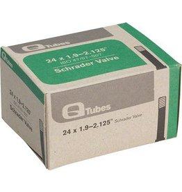 24x1.9-2.125 Q-Tubes Schrader Valve Tube 156g *Low Lead Valve*