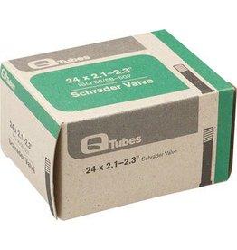 24x2.1-2.3 Q-Tubes Schrader Valve Tube 180g *Low Lead Valve*