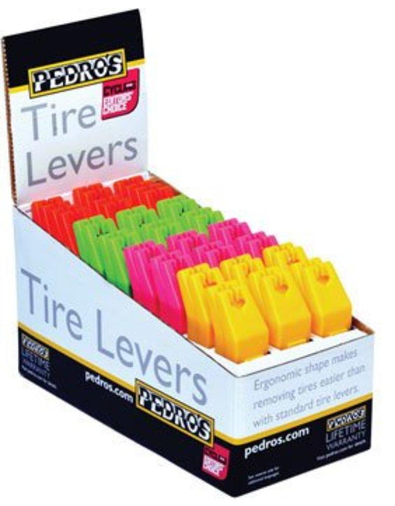 Pedro's Pedro's Tire Levers, Orange, Pink, Green, Yellow (set of 2)