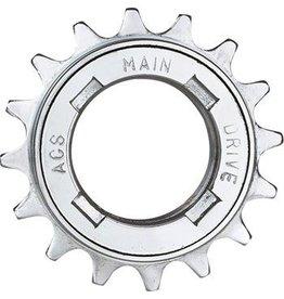 "ACS ACS Main Drive Freewheel, 16t 1/8"" Silver"