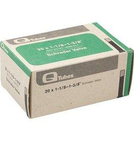 20x1-1/8-1-3/8 Q-Tubes Schrader Valve Tube 94g*Low Lead Valve*