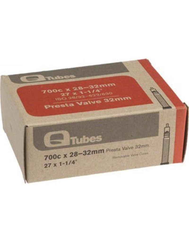 700x28-32mm Q-Tubes 32mm Presta Valve Tube 128g