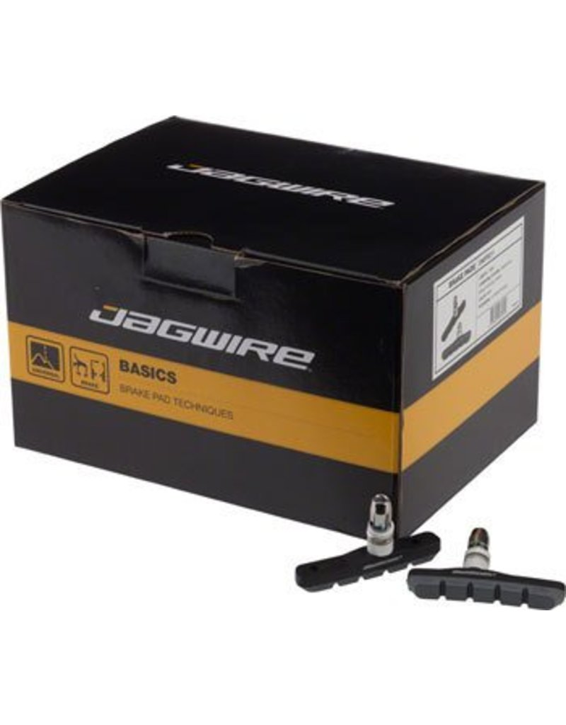 Jagwire Jagwire Mountain Sport Brake Pads Box of 25 Pair Grey