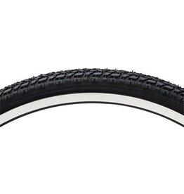 Vee Tire Co. 26x1.9 Vee Rubber Semi Knobby MTB Tire Steel Bead Black