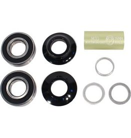 Profile Racing Profile Racing Mid Bottom Bracket Set Black (no Spindle)