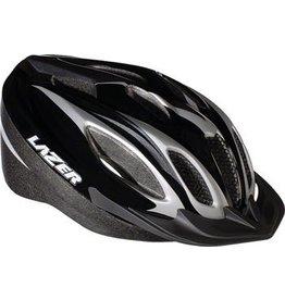 Lazer Lazer Compact Helmet: Black/Titanium MD