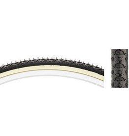 Kenda 27x1-3/8 Kenda K161 KrossCyclo Tire Steel Bead Black/Tan