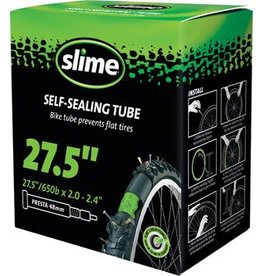 "Slime Slime Self-Sealing Tube 27.5"" x 2.0-2.4"", 32mm Presta Valve"