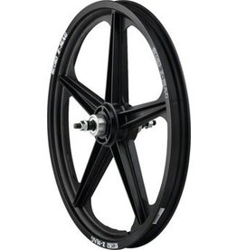 "ACS ACS Z Mag 20"" Rear Wheel, 5 Spoke 3/8"" Axle Black"