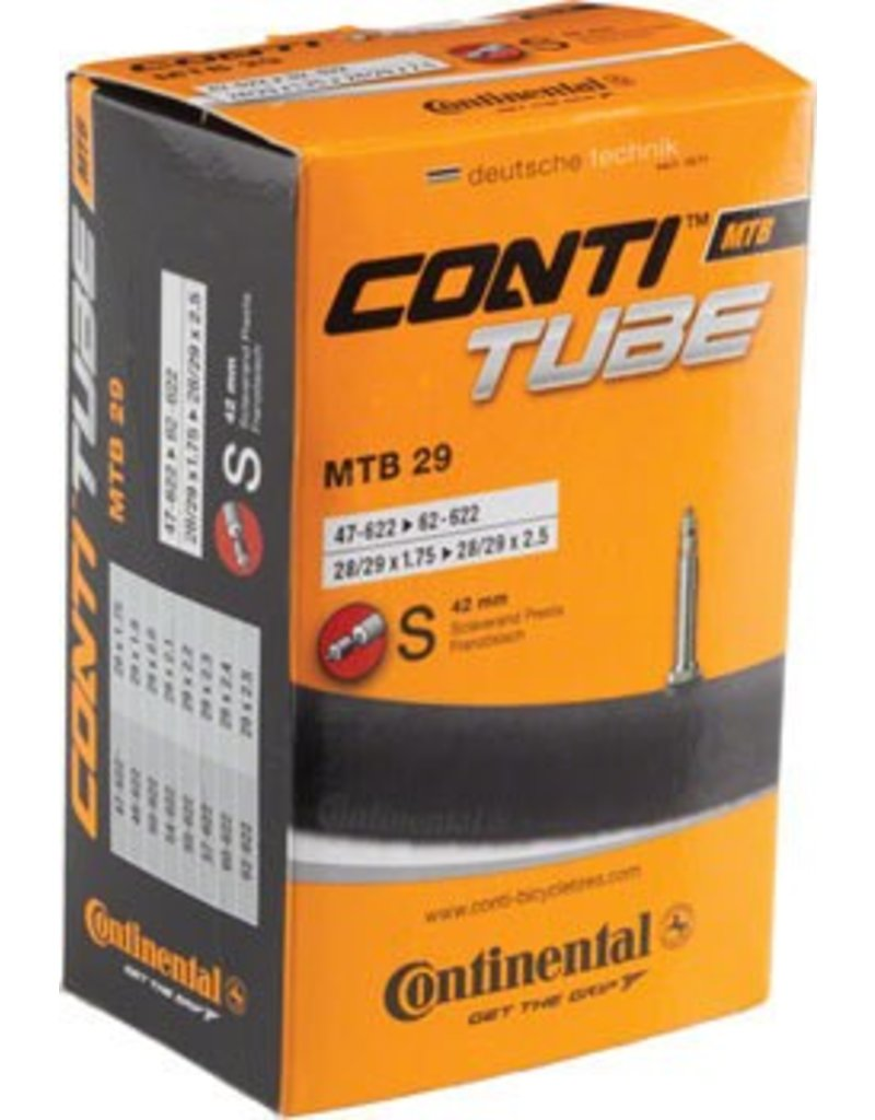 Continental Continental 29x1.75-2.5 42mm Presta Valve Tube