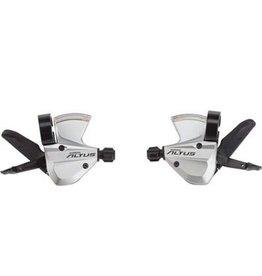 Shimano Shimano Altus M370 3x9-Speed Shifter Set, Silver