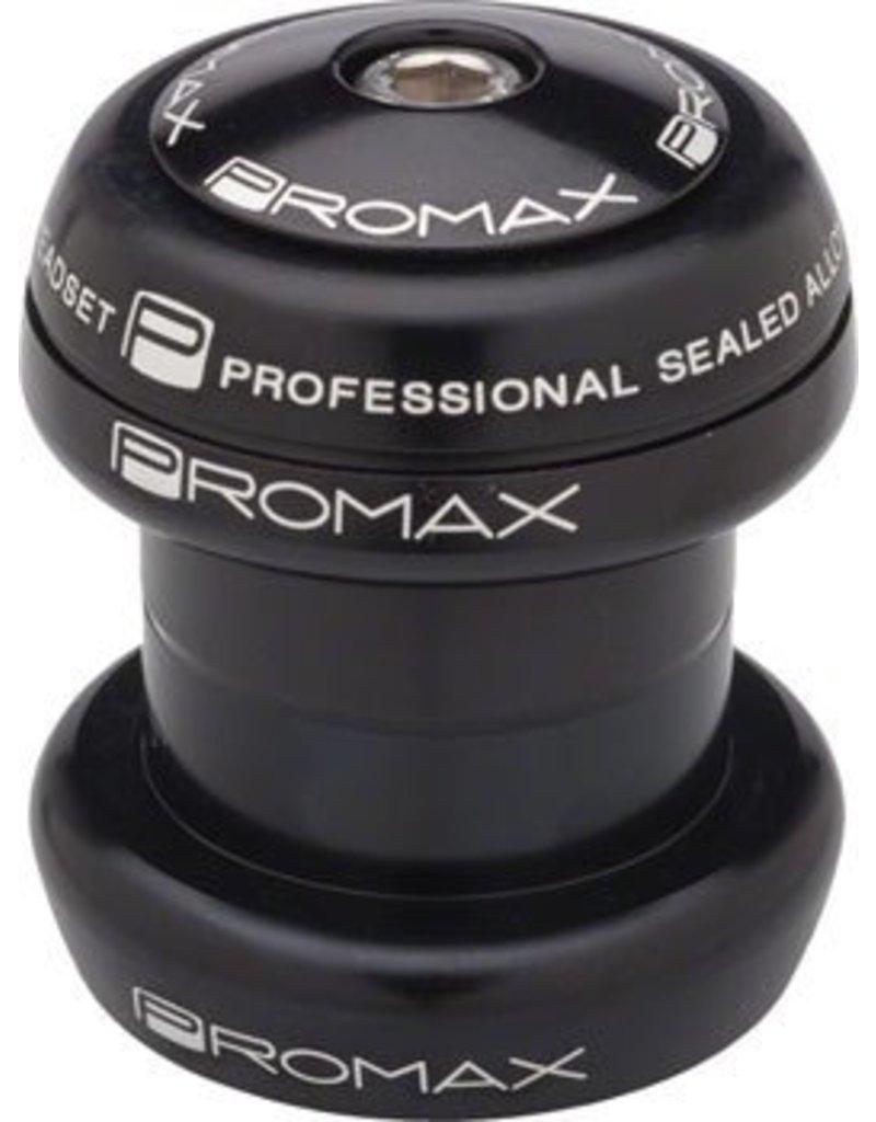 Promax Promax PI-1 Alloy Sealed Bearing 1-1/8 Press in Headset Black