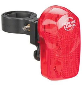 Planet Bike Planet Bike Blinky 7 LED Taillight: Red/Black