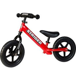 Strider Strider 12 Sport Kids Balance Bike: Red