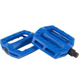 "Eclat Eclat Slash PC Pedals 9/16"" Blue"