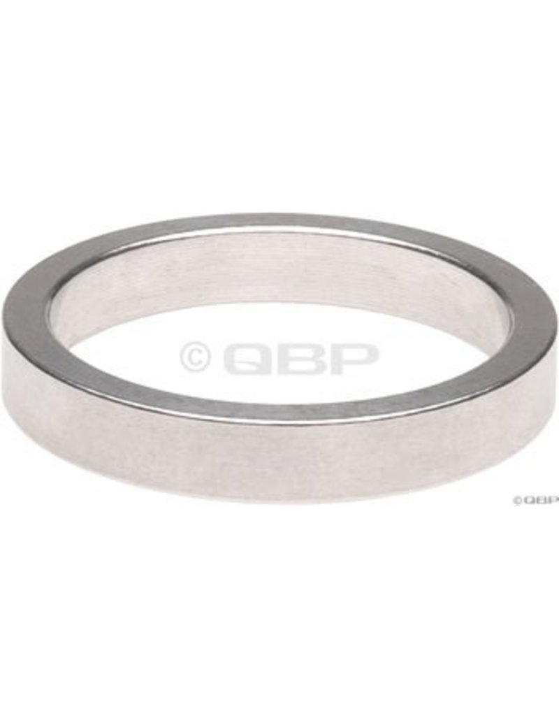 Wheels Manufacturing 5mm 1 Headset Spacer Silver - single