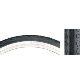 Kenda 26x2.125 Kenda K130 Cruiser Tire Steel Bead Black/White