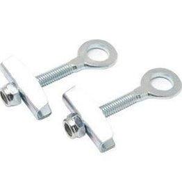 "XLC Chain Tensioner 3/8"", Pair Silver"