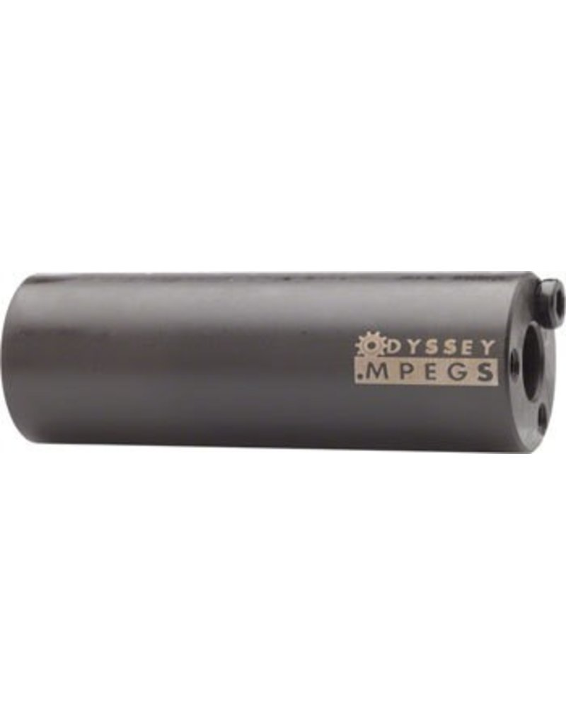 """Odyssey Odyssey MPEG 14mm Black Pegs With 3/8"""" Adaptor Sold In Pairs"""