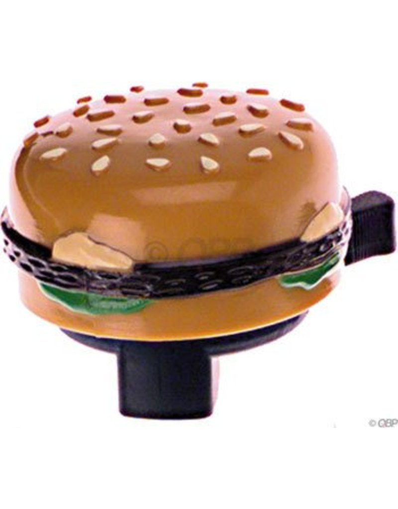 Dimension Burger Bell with Sesame Bun and Mustard Ooze