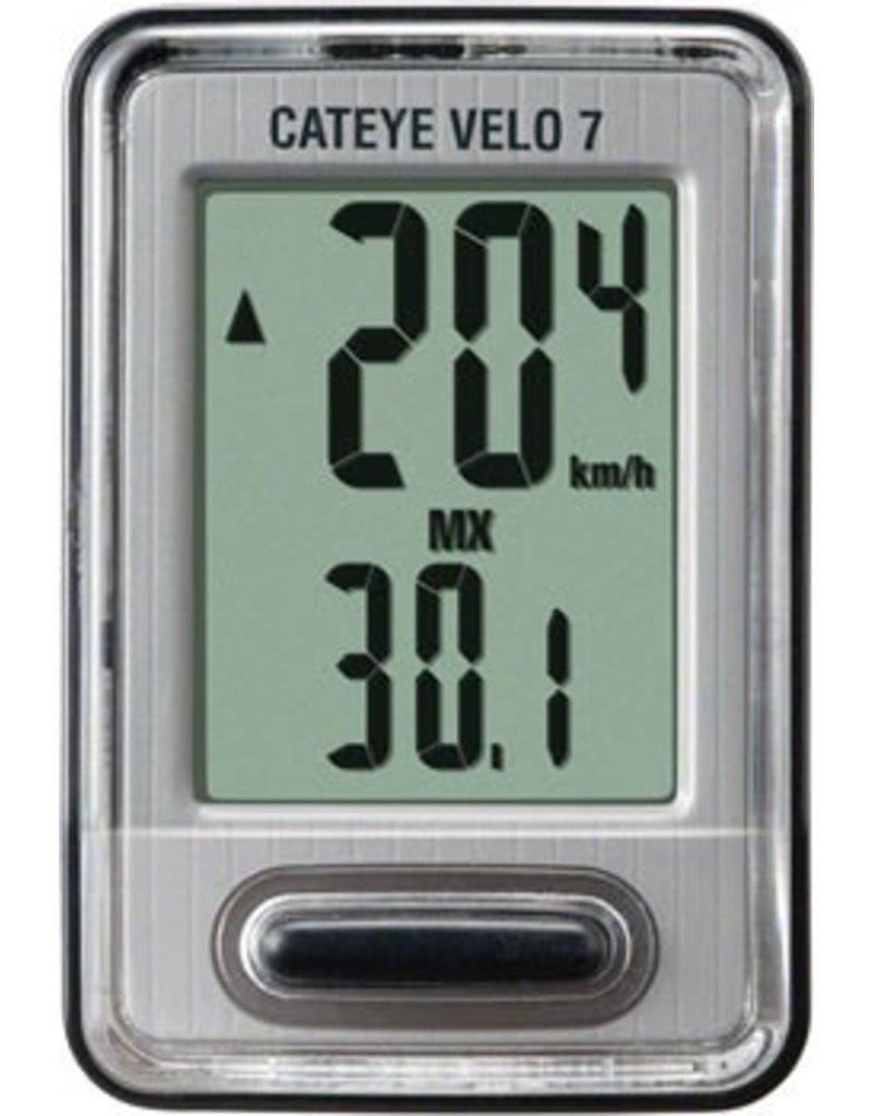 CatEye CatEye Velo 7, 7 Function Wired Cycling CPU CC-VL520: Black
