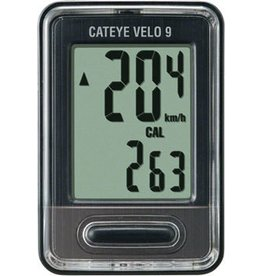 CatEye CatEye Velo 9, Wired Cycling Computer CC-VL820: Black