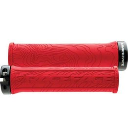 RaceFace RaceFace Half Nelson Lock-On Grip Red